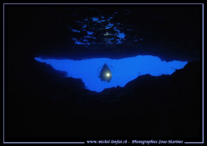 Diving the caves in Malta - Gozo... :O)... by Michel Lonfat 